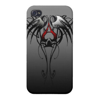 tribal ace of spade phone case covers for iPhone 4