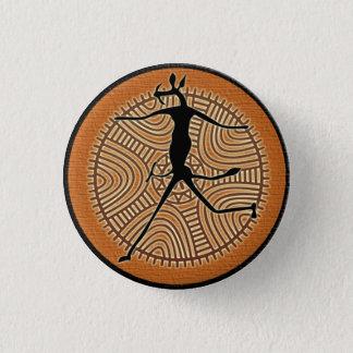 Tribal Africa button mascot