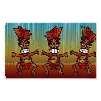 Tribal African Dance Photographic Print