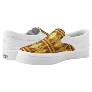 Tribal African Mud Cloth Printed Shoes