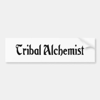 Tribal Alchemist Bumper Sticker