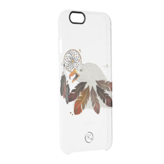 tribal american eagle clear iPhone 6/6S case