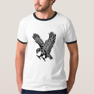 Tribal American Eagle Tattoo Design Tshirt