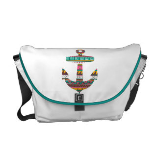 Tribal Anchor Courier Bags
