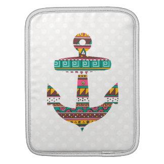 Tribal Anchor iPad Sleeve