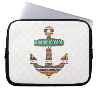 Tribal Anchor Laptop Sleeve