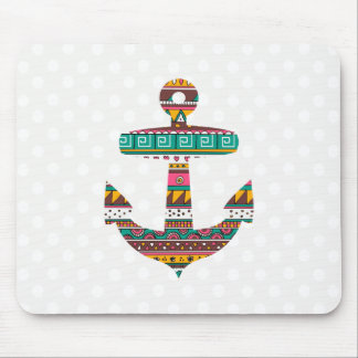Tribal Anchor Mouse Mat