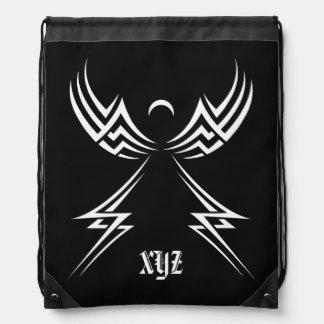 Tribal Angel custom bag