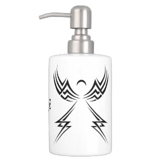 Tribal Angel custom bathroom set