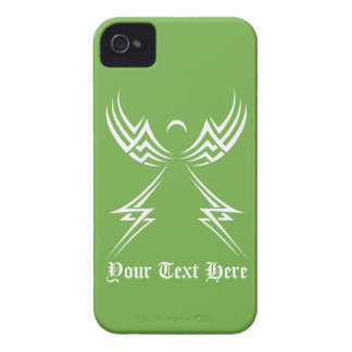 Tribal Angel custom Blackberry case