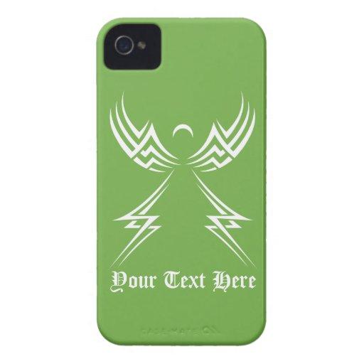 Tribal Angel custom Blackberry case