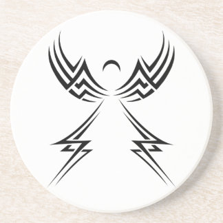 Tribal Angel custom coaster