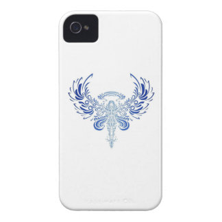 tribal angel iPhone 4 case