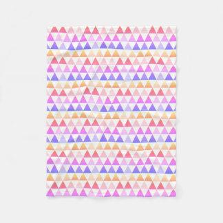 Tribal Arrow Rainbow Prism Geometric Fleece Blanket