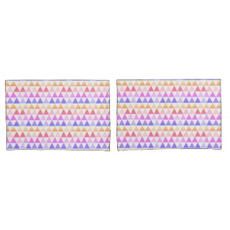 Tribal Arrow Rainbow Prism Geometric Pillowcase