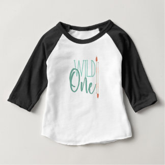 Tribal Arrow Wild One | First Birthday Baby T-Shirt