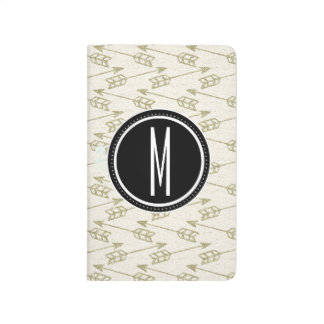 Tribal Arrows | Black Monogram Journal