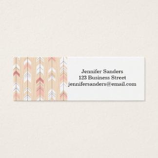 Tribal Arrows Mini Business Card