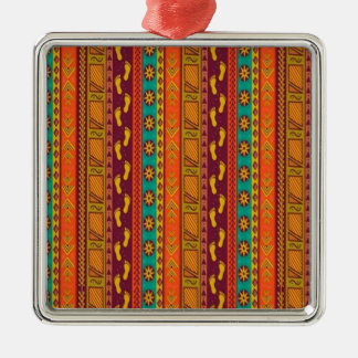 Tribal Art Christmas Ornament