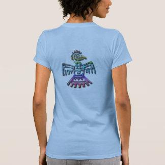 Tribal aztec bird womens shirt design