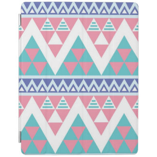 Tribal aztec colorful pattern iPad cover