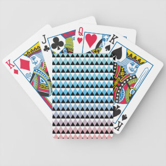 Tribal Aztec Ombre Pattern Bicycle Playing Cards