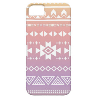 Tribal aztec ombre pattern case for the iPhone 5