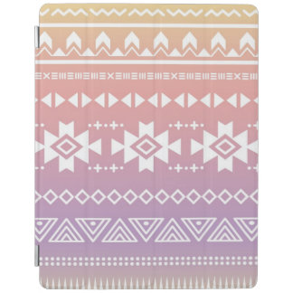 Tribal aztec ombre pattern iPad cover