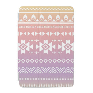 Tribal aztec ombre pattern iPad mini cover