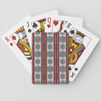 Tribal Aztec Pattern Classic Playing Cards