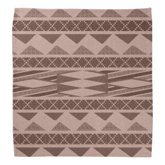 Tribal Aztec Pattern Southwest Design Bandanna