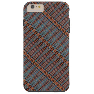 Tribal Basket Weave Cell Phone Cover Tough iPhone 6 Plus Case