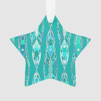Tribal Batik - Turquoise and Aquamarine