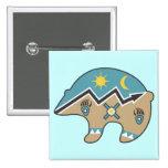 Tribal  Bear Design Badges