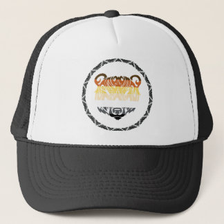tribal bear trucker hat