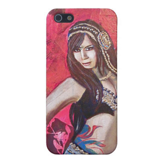 Tribal Belly Dancer Cover For iPhone 5/5S