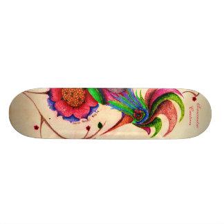 Tribal Bird Skateboard