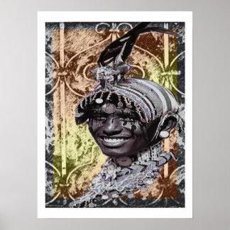 Tribal Bling Poster