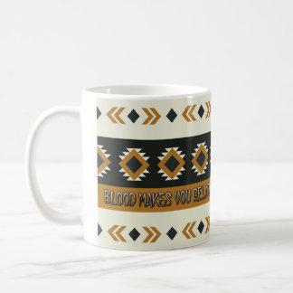 Tribal Blood Pattern Mug