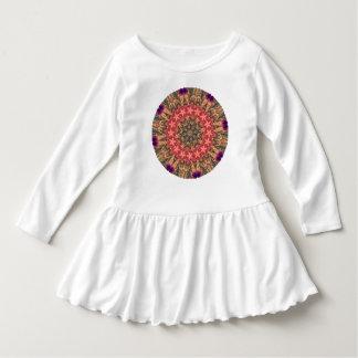 TRIBAL BOHEMIAN KALEIDOSCOPIC GEOMETRIC MANDALA DRESS
