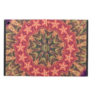 TRIBAL BOHEMIAN KALEIDOSCOPIC GEOMETRIC MANDALA iPad AIR COVER