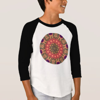 TRIBAL BOHEMIAN KALEIDOSCOPIC GEOMETRIC MANDALA T-Shirt