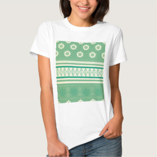tribal,boho,green,yellow,girly,cute,hipster,patter tshirt