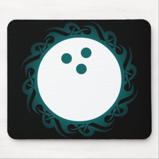 tribal bowling mouse mat