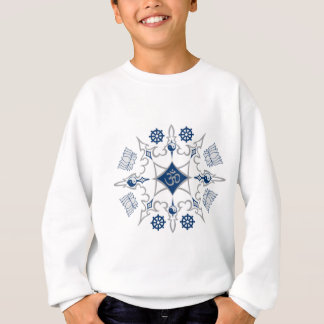 Tribal Buddhist Symbols Sweatshirt