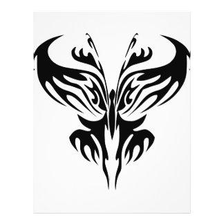 Tribal Butterfly Art  #029 21.5 Cm X 28 Cm Flyer