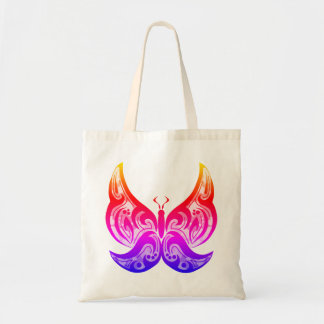 Tribal Butterfly Tote - Brights