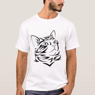 Tribal Cat Kitten T-Shirt