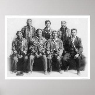 Tribal Chiefs Alaska 1917 Poster