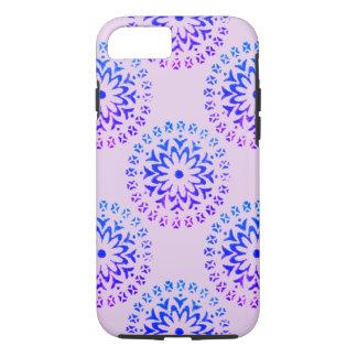 Tribal Circle Mandala Purple Ink iPhone 7 Case